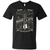 100% Proof Finest Guitar Life - Mens - V-Neck - Small to 3XL