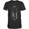 Acoustic Patent (Guitar) - Mens - V-Neck - Small to 3XL