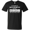Badass Biochemistry Major - Mens - V-Neck - Small to 3XL