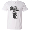 Guitar Tree - Mens - V-Neck - Small to 3XL