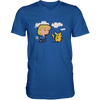 Hillary Clinton Chasing Pikachu - Mens - V-Neck - Small to 3XL