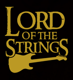 Lord of the Strings (Guitar) - Mens - V-Neck - Small to 3XL
