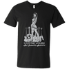 Love One Woman And Several Guitars - Mens - V-Neck - Small to 3XL