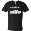 Mad Scientist Chemistry Major - Mens - V-Neck - Small to 3XL