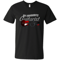 My Favorite Guitarist - Mens - V-Neck - Small to 3XL