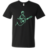 Neon Guitarist - Mens - V-Neck - Small to 3XL