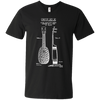 Ukulele Patent - Mens - V-Neck - Small to 3XL
