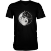 Yin Yang Owl Inspired by Witchcraft & Wicca - Mens - V-Neck - Small to 3XL