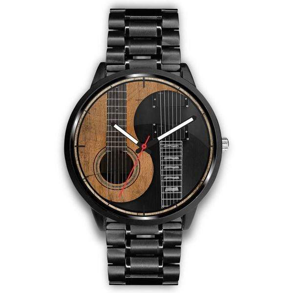 Yin Yang Guitar Watch - 40mm Men's and 34mm Womens - Offer Wall