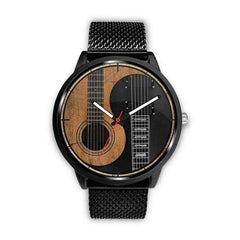Yin Yang Guitar Watch Exclusive Design