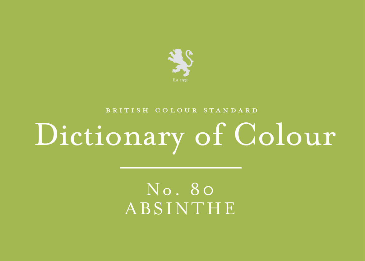 BRITISH COLOUR STANDARD - Absinthe No. 80