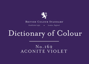 BRITISH COLOUR STANDARD - Aconite Violet No. 162