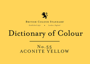 BRITISH COLOUR STANDARD-Aconite Yellow No.55