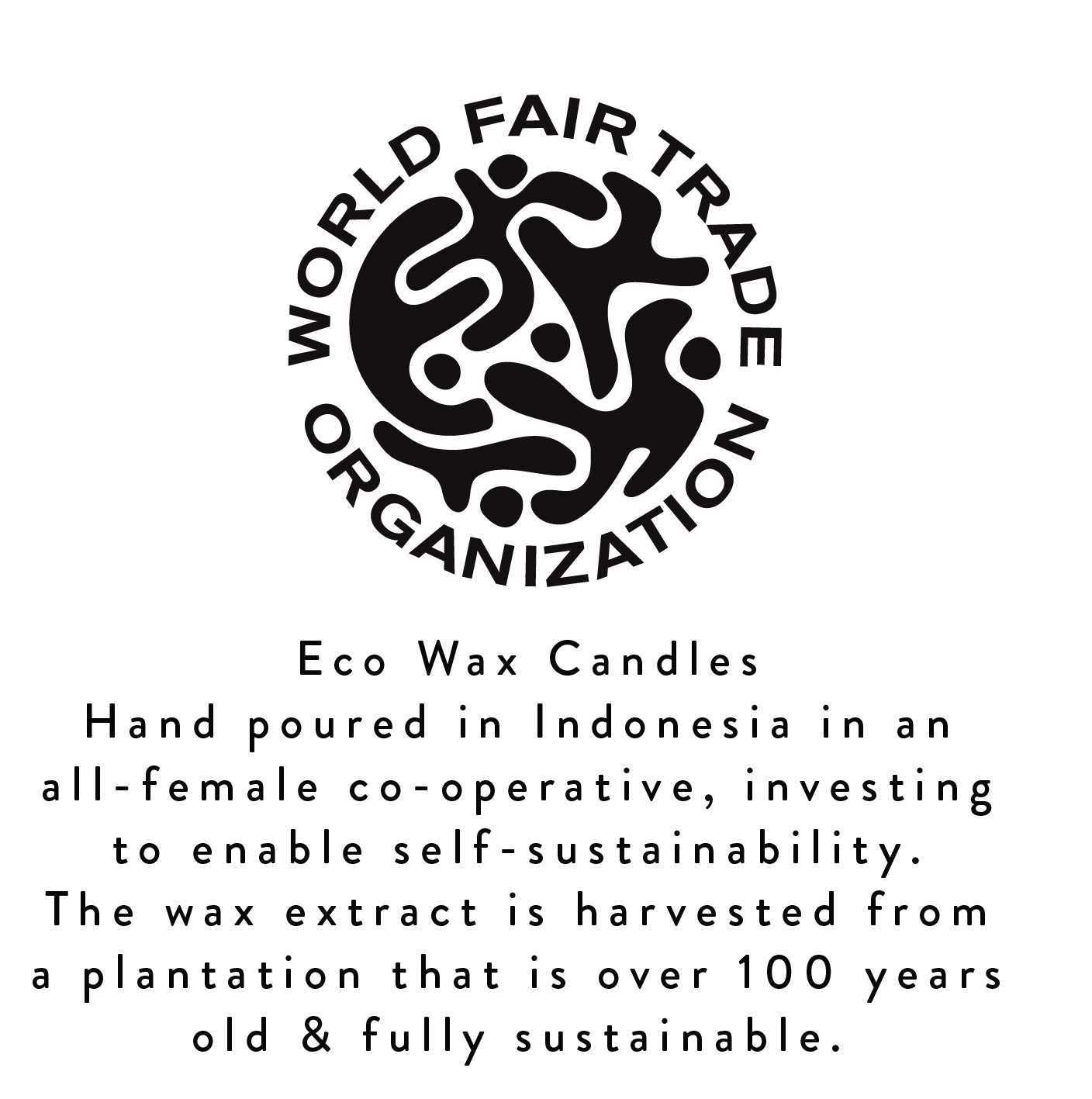Fair Trade Eco Wax Candles-History