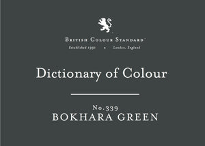 BRITISH COLOUR STANDARD - Bokhara Green No.339