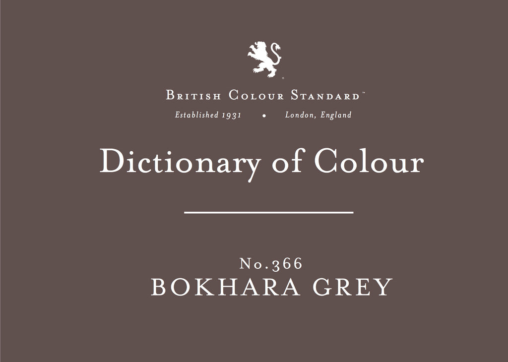 BRITISH COLOUR STANDARD - Bokhara Grey No.366