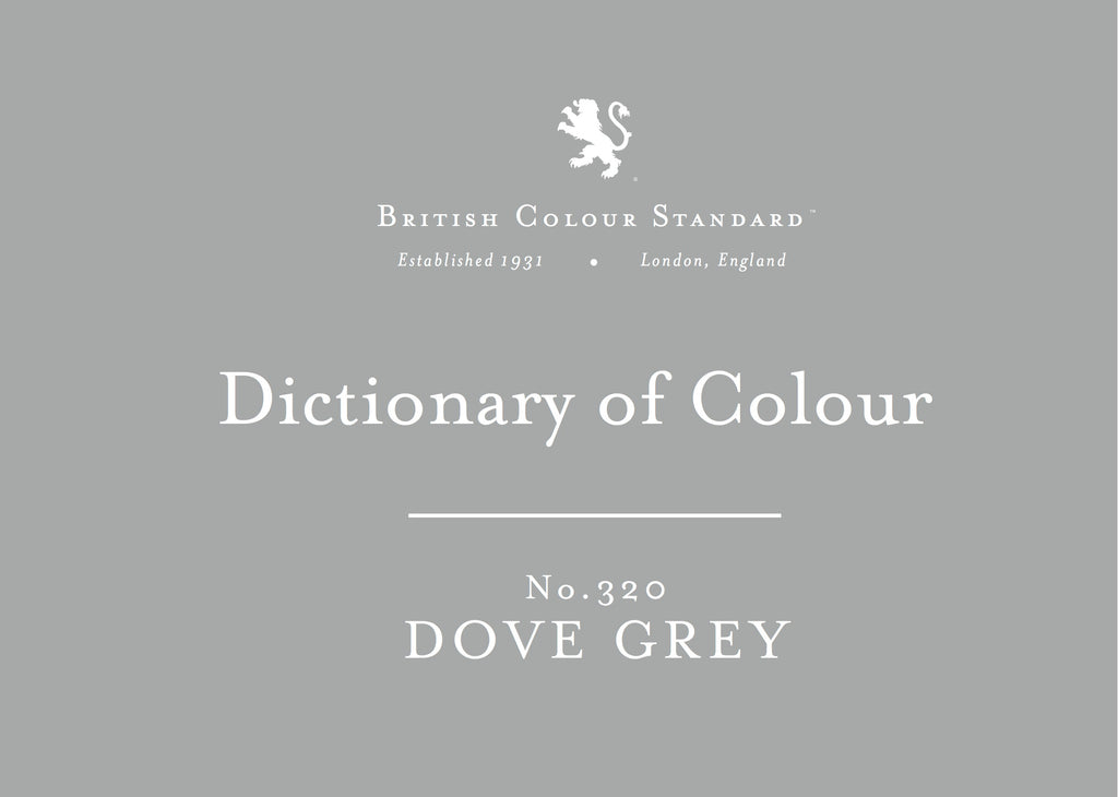 BRITISH COLOUR STANDARD - Dove Grey No. 320