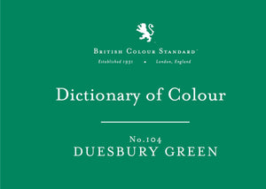 BRITISH COLOUR STANDARD - Duesbury Green No.104