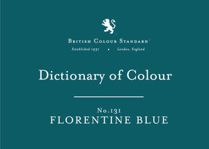 BRITISH COLOUR STANDARD - Florentine Blue No. 131