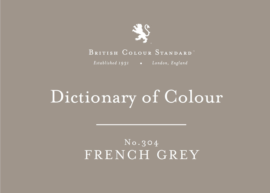 BRITISH COLOUR STANDARD - French Grey No. 304