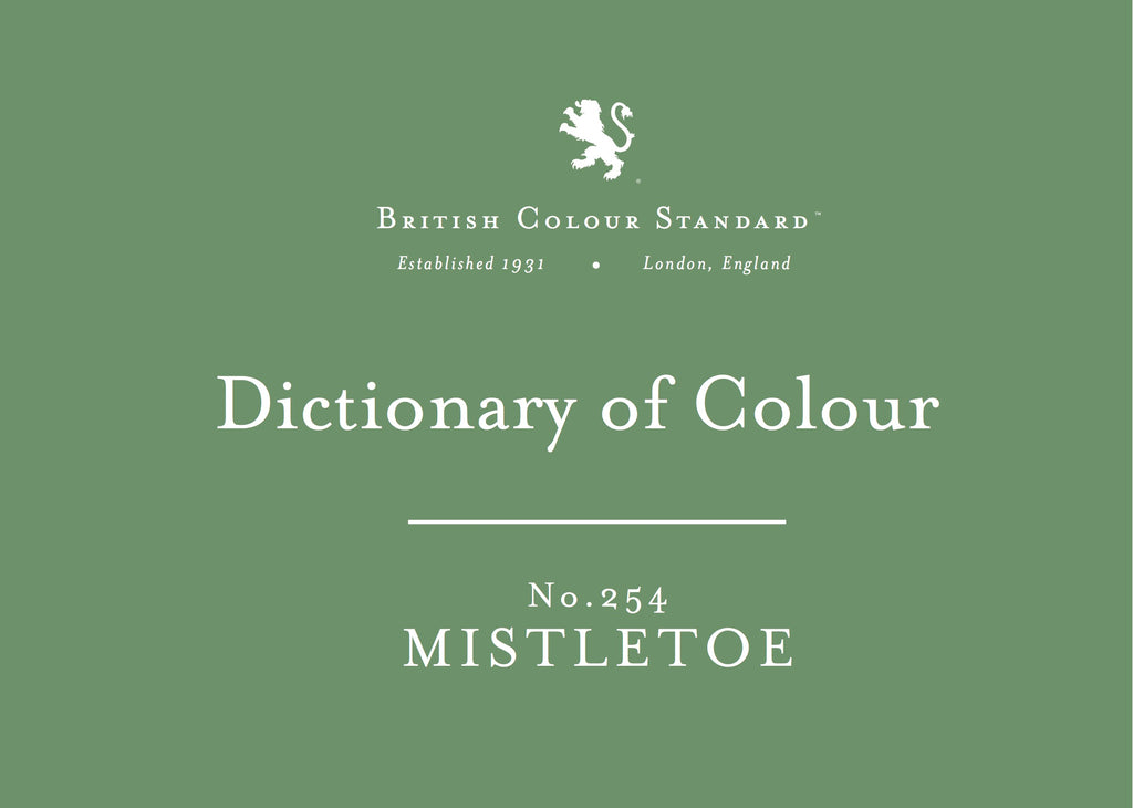 BRITISH COLOUR STANDARD - Mistletoe No. 254