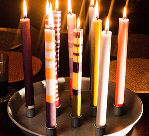 Striped Candles are coming-Indulge your colour cravings