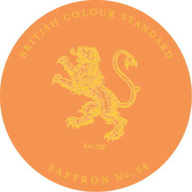 british colour standard- saffron No. 54