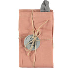 BCS133 Old Rose cotton tea towel packaging