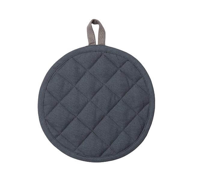 BRITISH COLOUR STANDARD -  Barista-Style Pot Holder in Gunmetal Grey