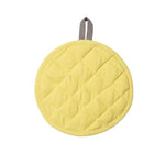 BRITISH COLOUR STANDARD -  Barista-Style Pot Holder in Tuscan Yellow