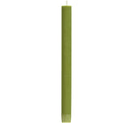 BRITISH COLOUR STANDARD - Olive Eco Dinner Candles, 6 per pack