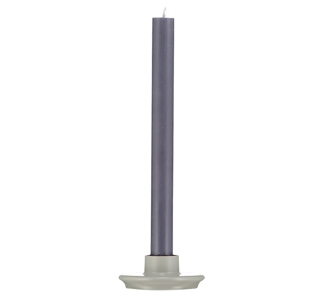 BRITISH COLOUR STANDARD Small Gull Grey Candleholder