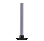 BRITISH COLOUR STANDARD- Small Jet Black Candleholder