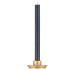 BRITISH COLOUR STANDARD Small Old Gold Candleholder