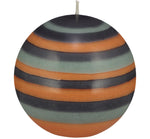 BRITISH COLOUR STANDARD - Large Eco Ball Candle - Marigold, Gunmetal & Opaline