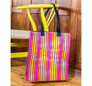 Farmers Market Shopper in Neyron Rose, Sage & Primrose Yellow