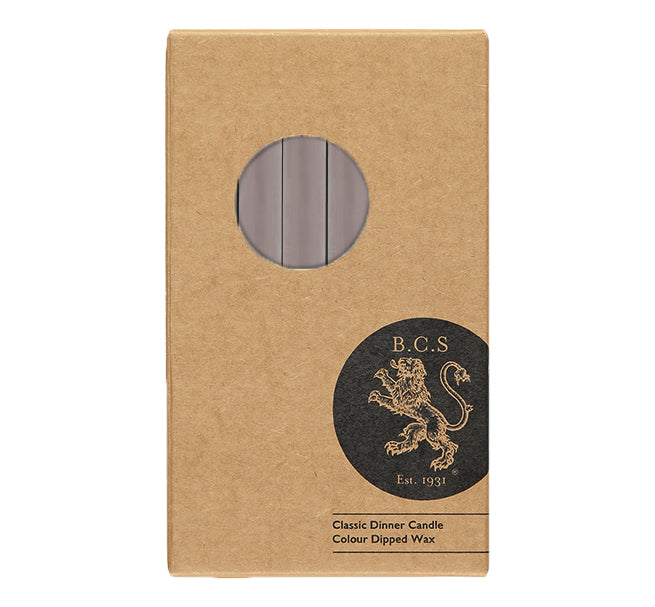 BRITISH COLOUR STANDARD - Fawn Eco Dinner Candles, 6 per pack