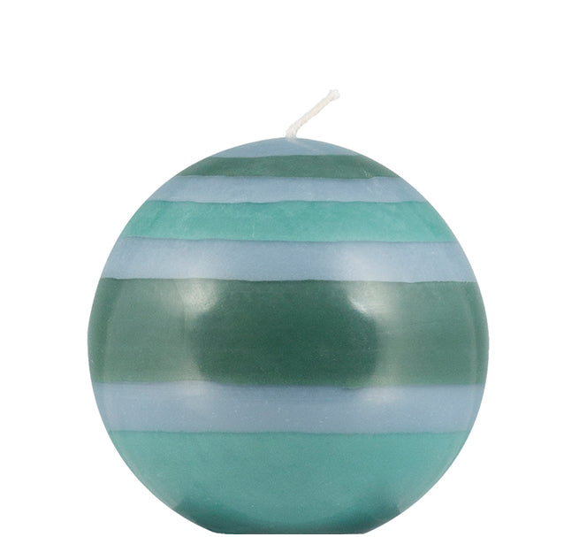 BRITISH COLOUR STANDARD - Small Eco Ball Candle - Beryl Green, Bokhara & Moonstone Grey