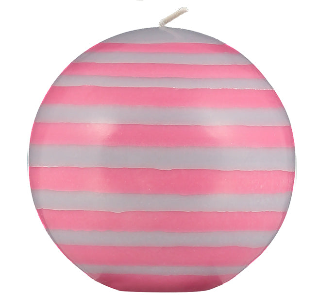 BRITISH COLOUR STANDARD - Large Eco Ball Candle - Neyron Rose & Willow Grey