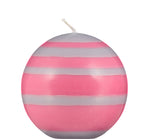 BRITISH COLOUR STANDARD - Small Eco Ball Candle - Neyron Rose & Willow Grey