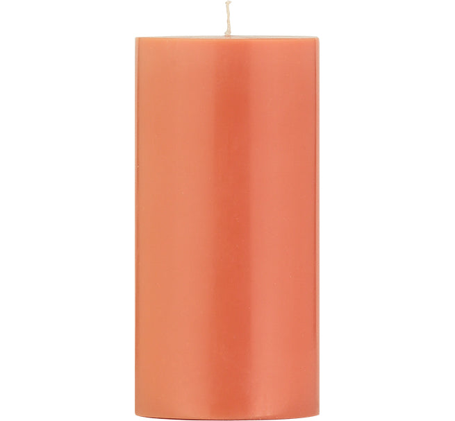 BRITISH COLOUR STANDARD - Rust Eco Pillar Candle