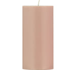 BRITISH COLOUR STANDARD - Old Rose Eco Pillar Candle