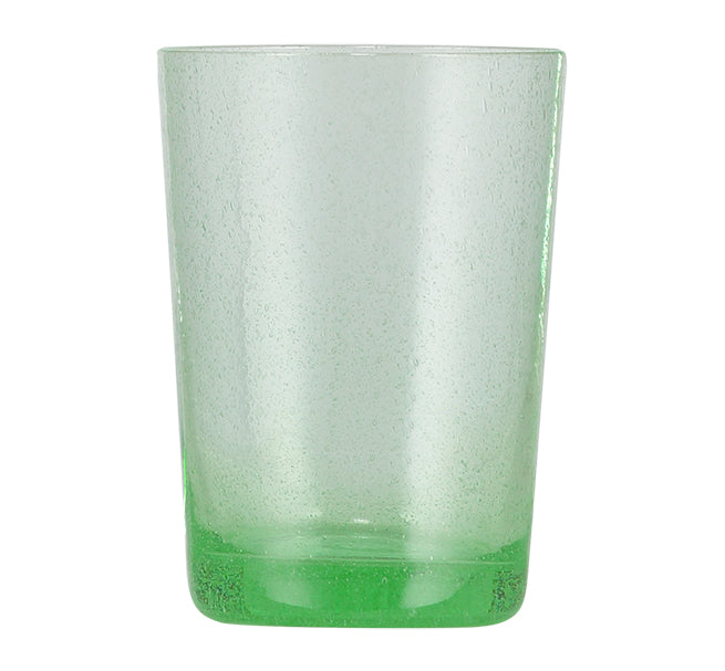 BRITISH COLOUR STANDARD Malachite Green Handmade Glass Tumbler