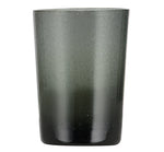 BRITISH COLOUR STANDARD - Charcoal Grey Handmade Glass Tumbler