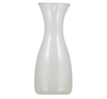 BRITISH COLOUR STANDARD - Pearl White Handmade Glass 1 Litre Carafe