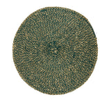 British Colour Standard Jute Placemat Olive Green