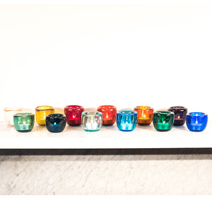 NEW! Handmade All 12 Coloured Tealights x 1 Pack
