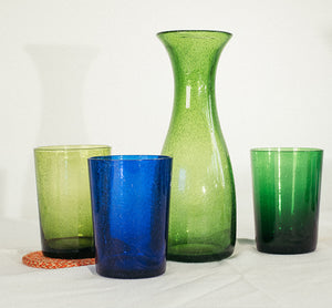 BRITISH COLOUR STANDARD - Cornflower Handmade Glass Tumbler