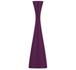 BRITISH COLOUR STANDARD Tall Doge Purple Wooden Candle Holder
