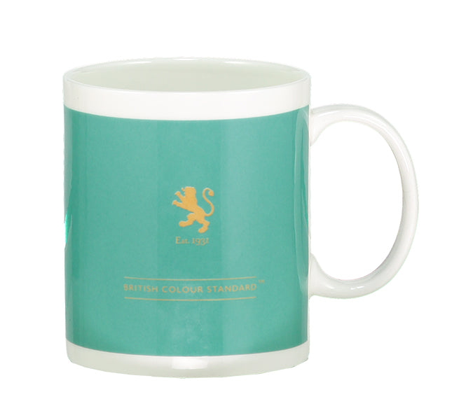 BRITISH COLOUR STANDARD Tropic Turquoise Mug